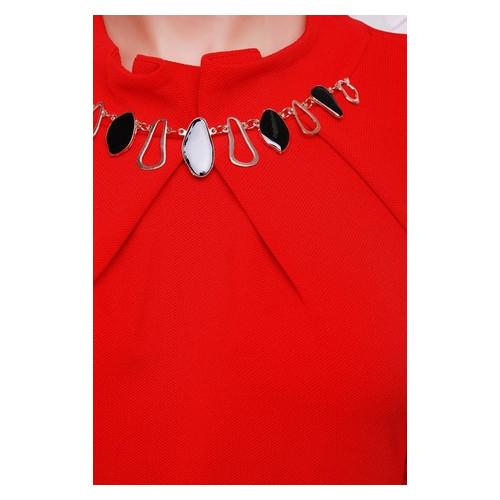Платье FashionUp Красный 44