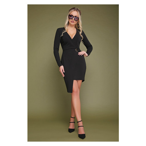 Платье Irmana Виолетта д/р р. L Черный