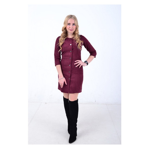 Платье Irmana Кнопки 038 р. 46 Марсала