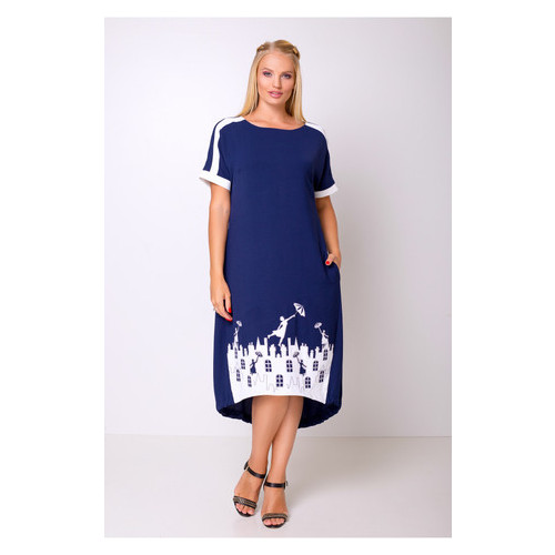Платье Irmana Арсения 54 Темно-синий