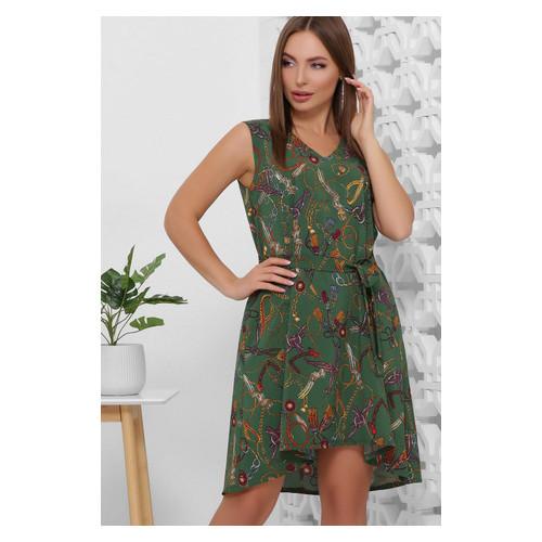 Платье 1859 48 Зеленый