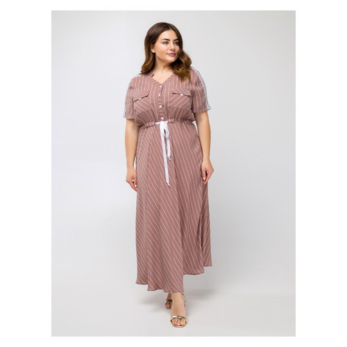 Платье Сатина 50 Капучино