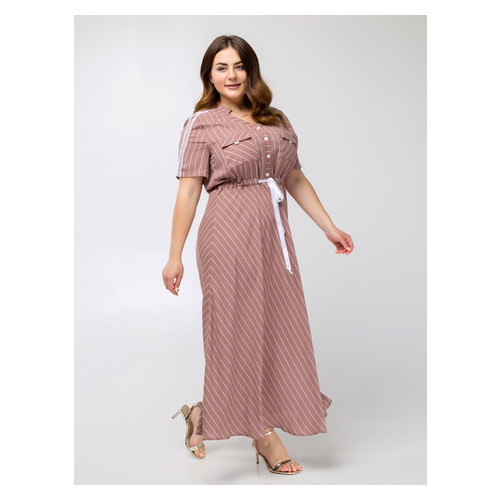 Платье Сатина 56 Капучино