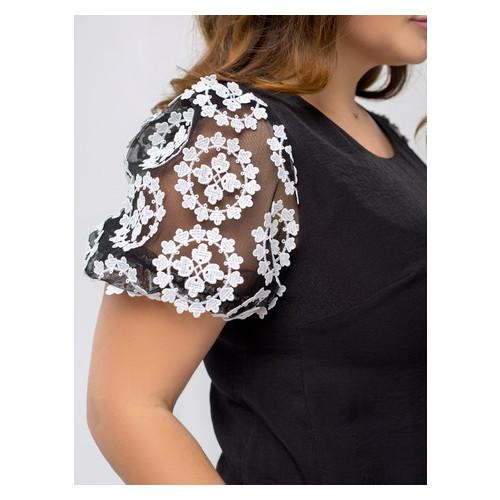 Платье Селеста кружево 52 Черный