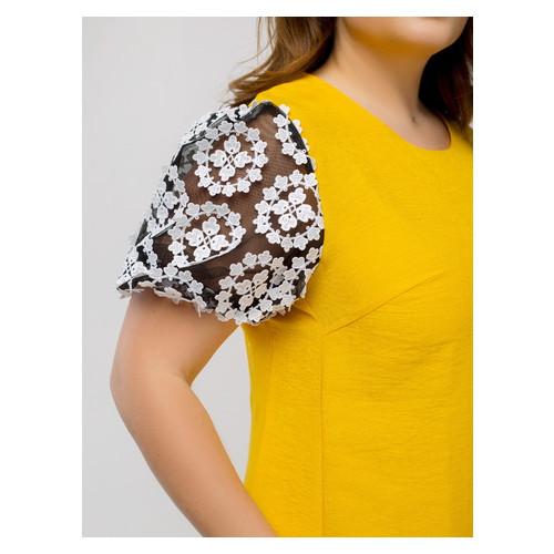 Платье Селеста кружево 56 Желтый