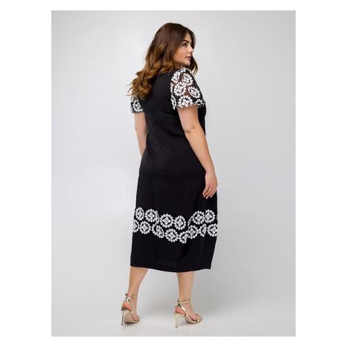 Платье Селеста кружево 56 Черный