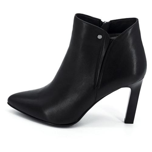 Женские ботинки на каблуке Renzoni 13716, Черный, 40, 2973310187915