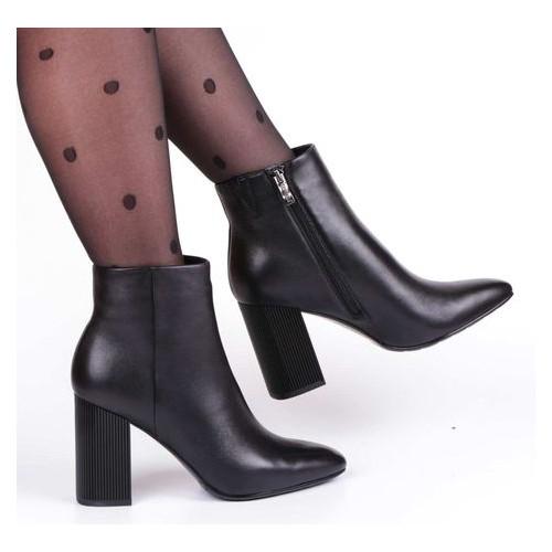 Женские ботинки на каблуке Renzoni 221221, Черный, 39, 2973310156690