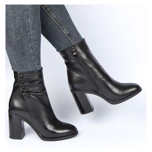 Женские ботинки на каблуке Blue Tempt 195597, Черный, 39, 2999860351446