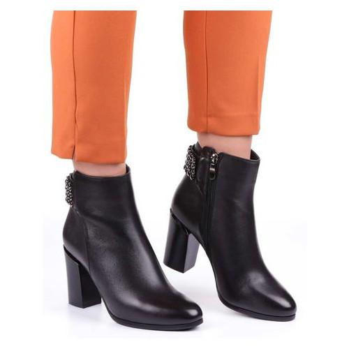 Женские ботинки на каблуке Blue Tempt 19988, Черный, 40, 2999860284287