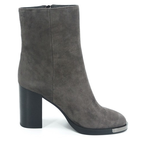 Женские ботинки на каблуке Geronea 18349, Серый, 38, 2973310159110