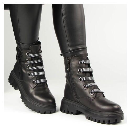 Женские зимние ботинки на низком ходу Deenoor 196708, Черный, 38, 2999860430783