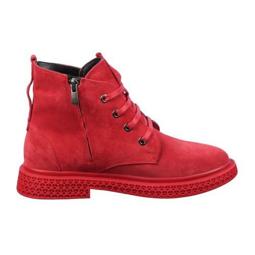 Женские ботинки на низком ходу Pera Donna 195576, Красный, 39, 2999860348231