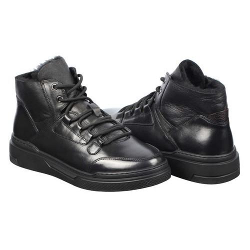 Мужские зимние ботинки Marco Pierro 195538, Черный, 39, 2999860345230