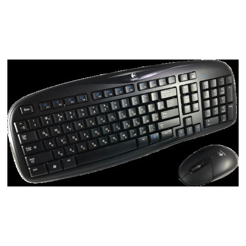 Клавиатура + мышь Logitech EX100 Wireless Combo Black Grade B2 Refurbished