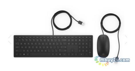 Комплект проводной HP Pavilion Keyboard and Mouse 400 (4CE97AA)