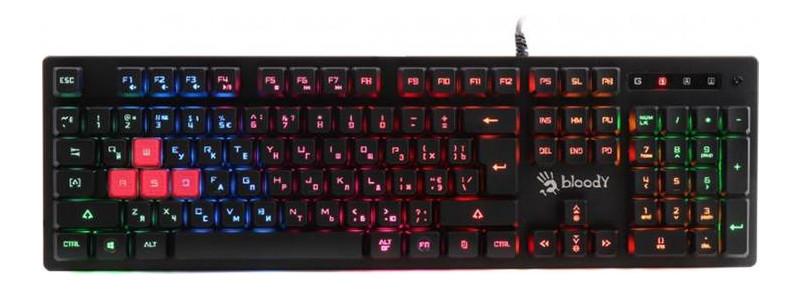 Клавиатура A4Tech Bloody B160N Bloody Black USB