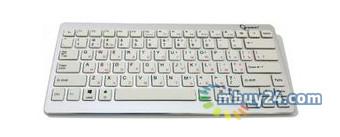 Клавиатура беспроводная Gembird KB-6411BT-UA USB White