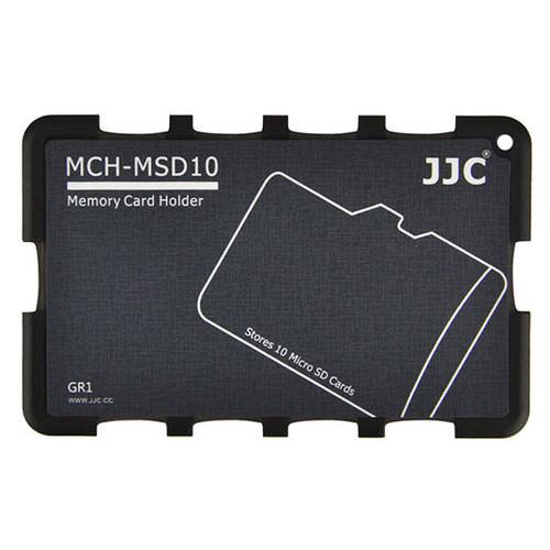 Кейс для карт JJC Memory Card Holder (MCH-MSD10GR)