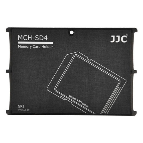 Кейс для карт JJC Memory Card Holder (MCH-SD4GR)