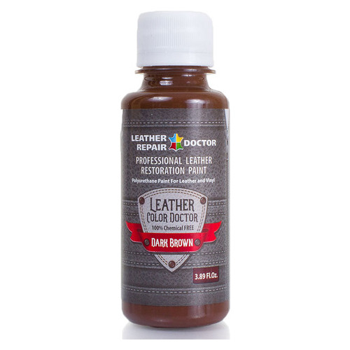 Профессиональная краска для кожи Leather Repair Doctor T459568-1-dark-brown-125