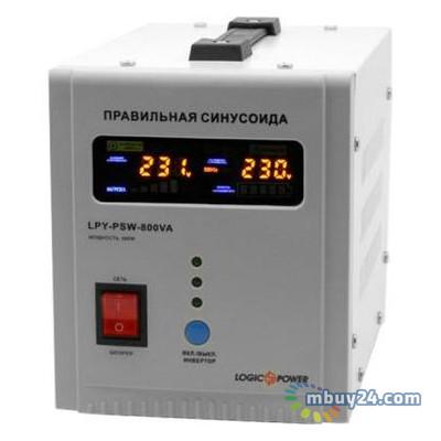 Источник бесперебойного питания LogicPower LPY-PSW-800VA+ 5A/15A (4153)