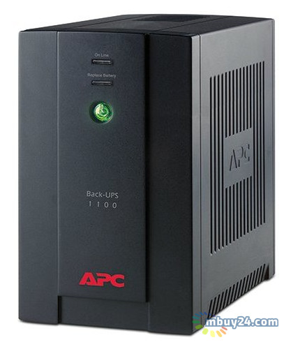 Источник бесперебойного питания APC BX1100LI 550W/1100VA