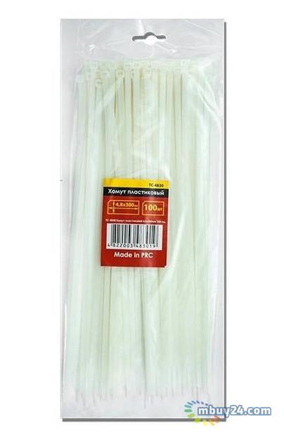 Хомут пластиковый Intertool TC-2510 2,5 x 100мм 100 шт белый