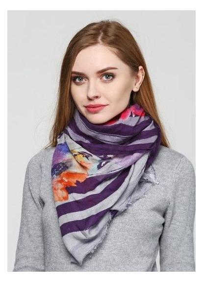 Платок женский Ottotredici 813 Фиолетовый OTTO-001 (2900054827012)