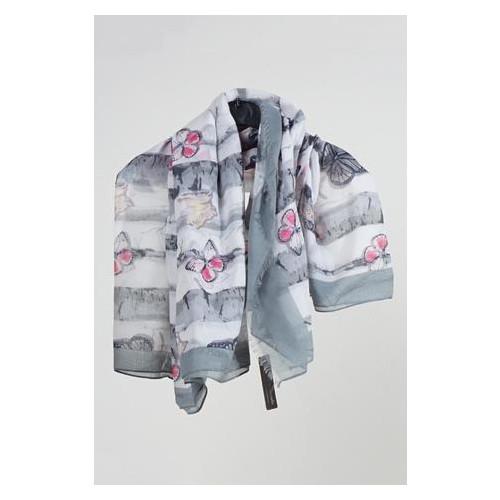 Платок Brava Moda one size Серый (XL-12_серый)