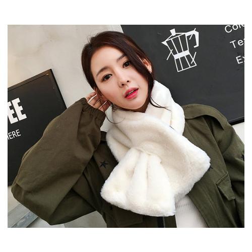 Элегантный велюровый шарф с петлей (ОЖ-055)