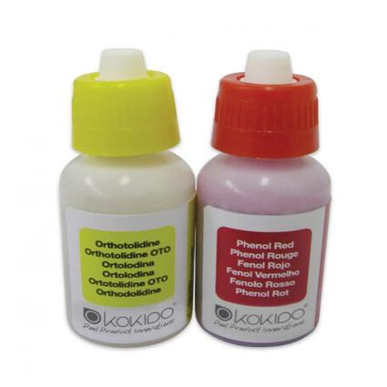 Капли Kokido K102BU для тестера K029BU (pH и Cl/Br по 20 мл) (bf)