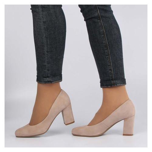 Женские туфли на каблуке Bravo Moda 196120, Бежевый, 40, 2999860388701