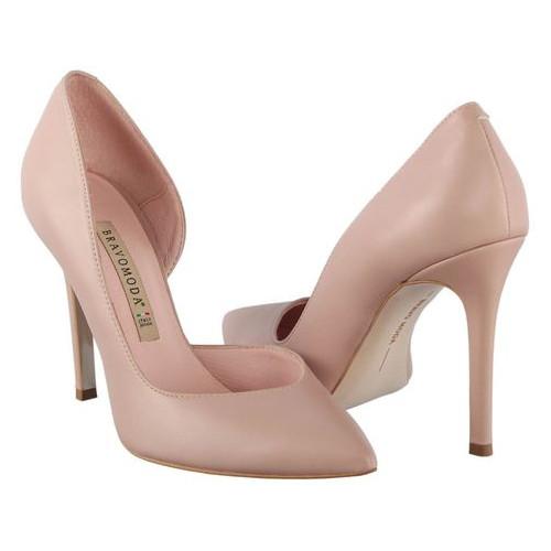 Женские туфли на каблуке Bravo Moda 196143, Розовый, 39, 2999860389869