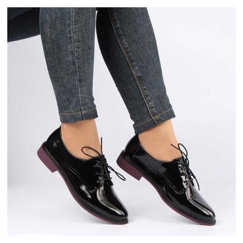 Женские туфли на низком ходу Renzoni 195727, Черный, 39, 2999860365337