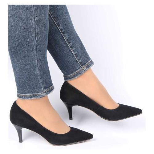 Женские туфли на каблуке Renzoni 360101, Черный, 40, 2973310206548