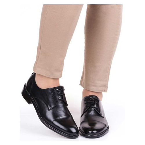 Женские туфли на низком ходу Anemone 195087, Черный, 39, 2999860288872