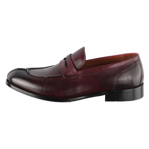 Мужские классические туфли Lido Marinozzi 110291, Бордовый, 42, 2973310162011