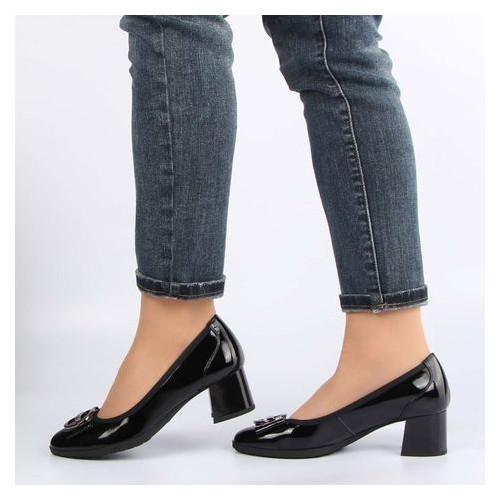 Женские туфли на каблуке buts 195338, Черный, 37, 2999860329681
