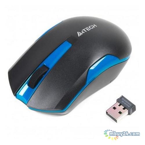Мышь A4Tech G3-200N Black Blue