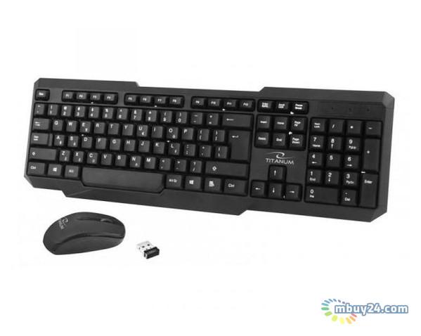 Комплект: клавиатура и мышь Esperanza Titanum TK108UA