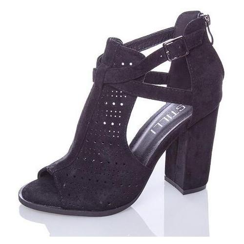 Женские босоножки Fashion Bruno 2872 39 размер Черный
