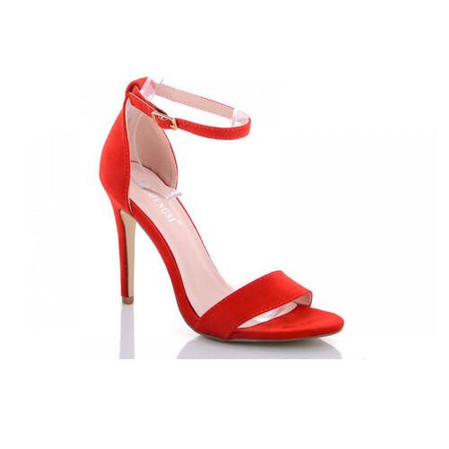 Босоножки женские Fashion Isha 2855 39 размер Красный