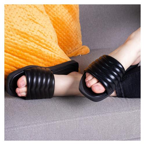 Шлепанцы женские Fashion Qihai 2841 39 размер Черный