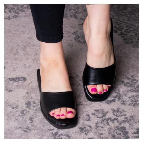 Шлепанцы женские Fashion Taffy 2866 37 размер Черный