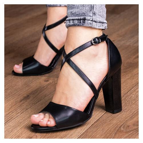 Женские босоножки Fashion Yasmine 2962 39 размер Черный