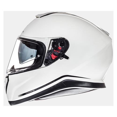 Мотошлем MT Helmets Thunder 3 SV SOLID Pearl White XL