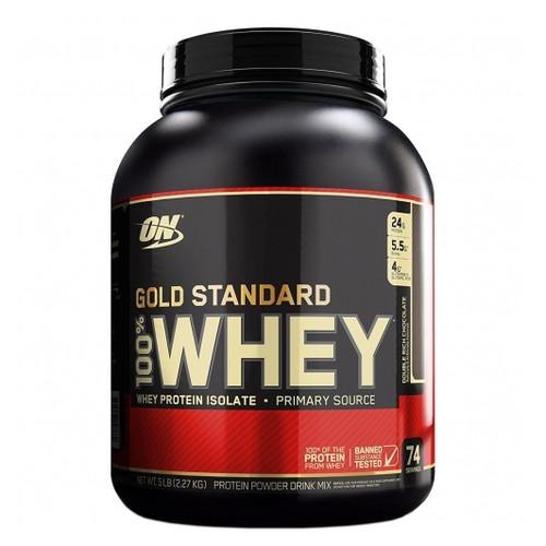 Протеин Optimum Nutrition Whey Gold 4,540кг strawberry