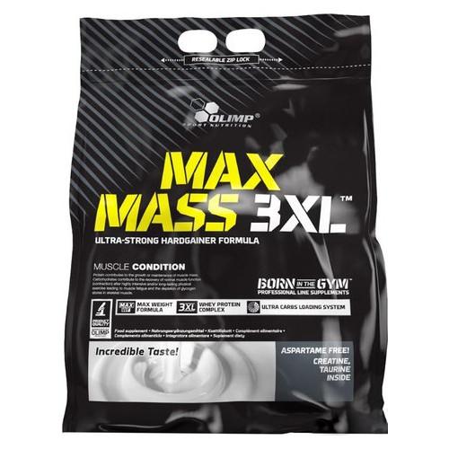 Гейнер Olimp Max Mass 3XL bag 6000 г ваниль