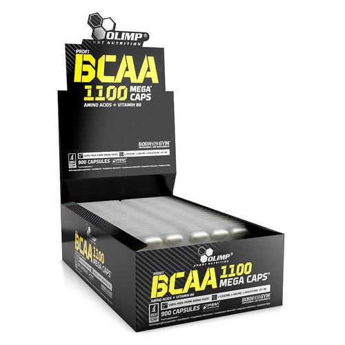 Аминокислоты Olimp nutrition BCAA Mega Caps 30*30 капсул (CN272)
